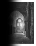 Laurence Aëgerter, Abbaye Senanque, 12th century, 2019, Silkscreened ultrachrome print revealing when exposed to the sunlight, 118 x 90 cm and 85 x 65 cm, 6 + 2 AP