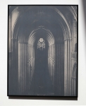 Laurence Aëgerter, Cathédrales Hermétiques, Coutances, 12th century, 2015, silkscreened ultrachrome print, which reveals when exposed to sunlight, 85 x 65 cm, 5/6 + 2 AP
