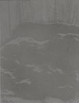 Tanja Engelberts, Mine (II), 2018, Silkscreen with Tar sand, 15 x 20 cm, 5 + 2 AP.