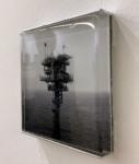 Tanja Engelberts, Forgotten seas (IV), 2020 | Digital print, resin, aluminium | 12 x 12 x 1 cm | Edition 5 + 2 AP