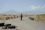 Man on the road to Ararat, Maku