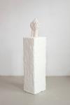 Maura Biava, Zero #02, 2014, 3D printed ceramic, wood, plaster, unique + 2 AP, overview photo.