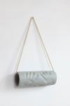 Maura Biava, Cylinder #01, 2019 | ceramic and rope | 60 x 35 x 12 cm | unique + 2 AP