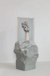 Maura Biava, Zero #12, 2019, C-print, perspex, ceramic, plastic, 42 x 20 x 20 cm, Unique + 2 AP.