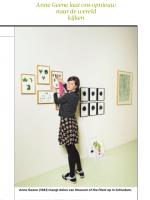 Anne Geene nominated for Volkskrant Beeldende Kunst Prijs