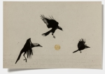 Hans Bol, Untitled #39, negative 2004, printed 2018. Silver gelatin, toning, gold leaf, image size 10,7 x 16 cm, framed 34 x 39,5 cm. Edition 7 + 1 AP