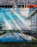 Construction in Normandy Shores, 2017, from the series FloodZone | Archival Pigment Print or Dye-Sublimation Print on Metal | 100 x 80 cm and 127 x 100 cm | ed. 1/5