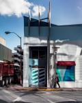Street in South Beach, 2018, from the series FloodZone | Archival Pigment Print or Dye-Sublimation Print on Metal | 100 x 80 cm and 127 x 100 cm | ed. 2/5