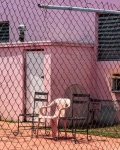 Pink Chair in Normandy Shores, 2018