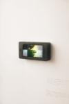 Elsa Leydier, Petralhada from the series Brazil: System Error (#elenão), lightbox installation view | 2018 | oak wood lightbox, museum glass, LED | frame 16 x 8,4 x 3,4 cm | edition 3 + 1 AP