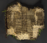 Diana Scherer, Exercises in Rootsystem Domestication #7, 2020 | Photography fine art print / plantrootweaving, framed with museum glass | 100 x 120 cm | Edition of 5 + 2 AP