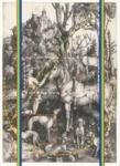 Laurence Aëgerter, St Eustace (Dürer), 2020, from the series Compositions synesthétiques.Silkscreened ultrachrome print, 35.9 x 26.2 cm, ed. 6 + 2 AP