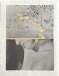 Margaret Lansink, Flow, 2020 | collage printed on Kizuki handmade Washi paper, mended with 23Kt gold leaf | 29 x 22 cm | ed. 3 + 2 AP