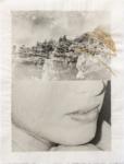 Margaret Lansink, Fragile, 2020 | collage printed on Kizuki handmade Washi paper, mended with 23Kt gold leaf | 33 x 25 cm | ed. 3 + 2 AP
