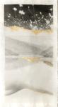 Margaret Lansink, Subtle 1, 2020 | collage printed on Kizuki handmade Washi paper, mended with 23Kt goldleaf | 85 x 46,5 cm | ed. 3 + 2 AP