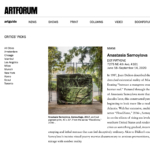 Anastasia Samoylova in ARTFORUM's Critics' Picks