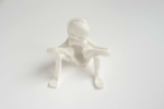 Antoinette Nausikaä, From the series Blanc de Chine porcelain figurines, Dehua 2015 | Sculpture, Chinese porcelain | approx. 10 x 10 cm | Part of a larger installation, sold individually | Unique