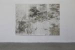 Tanja Engelberts, Petroleum Borealis, 2018 | Silkscreen with tar sand | 200 x 280 cm | Edition 5 + 2 AP