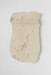 Antoinette Nausikaä, Fossil Plate, Paris, 2020, from the series A River Runs Through Me, Paris |  Ceramic (made directly on location) | Approx. 24 x 15 cm | Unique