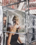 Anastasia Samoylova, Chain Link Fence, Miami, 2018, from the series Floridas   Archival Pigment Print or Dye-Sublimation Print on Metal   100 x 80 cm, 127 x 100 cm   ed. 5 + 2 AP